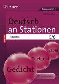 Deutsch an Stationen SPEZIAL Textsorten 5-6