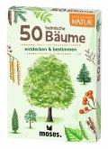 Moses MOS09716 - Expedition Natur: 50 heimische Bäume, Lernkarten