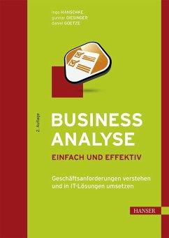 Business Analyse - einfach und effektiv