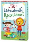Moses MOS21085 - 50 blitzschnelle Bastelideen, Kartenset