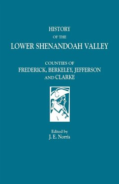 History of the Lower Shenandoah Valley