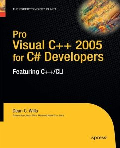 Pro Visual C++ 2005 for C# Developers - Wills, Dean C.