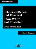 Schneeweißchen und Rosenrot - Snow-White and Rose-Red (eBook, ePUB)