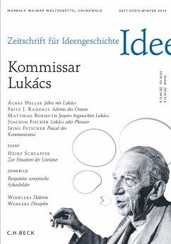 Zeitschrift für Ideengeschichte Heft VIII/4 Winter 2014 (eBook, ePUB)