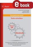 Kompetenzerwerb Texte schreiben 3+4 (eBook, PDF)