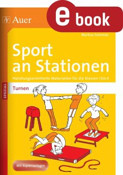 Sport an Stationen SPEZIAL Turnen 1-4 (eBook, PDF) - Sommer, Markus