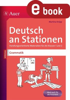 Deutsch an Stationen Spezial Grammatik 1-2 (eBook, PDF) - Knipp, Martina