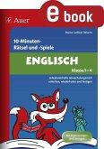 10-Minuten-Rätsel und -Spiele Englisch Klasse 1-4 (eBook, PDF)
