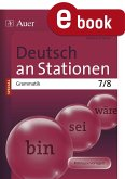 Deutsch an Stationen SPEZIAL Grammatik 7-8 (eBook, PDF)