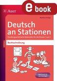 Deutsch an Stationen Spezial Rechtschreibung 1-2 (eBook, PDF)