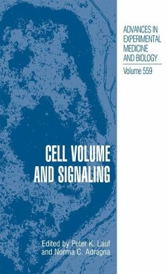 Cell Volume and Signaling - Lauf, Peter; Adragna, Norma