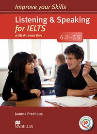 Improve Your Skills for IELTS: Listening & Speaking for IELTS (6.0 - 7.5). Student's Book with MPO, Key and 2 Audio-CDs