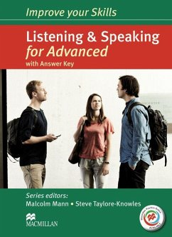 Improve your Skills for Advanced (CAE): Improve your Skills: Listening & Speaking for Advanced (CAE). Student's Book with MPO, Key and 2 Audio-CDs - Mann, Malcolm; Taylore-Knowles, Steve