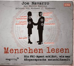 Menschen lesen, 4 Audio-CDs - Navarro, Joe