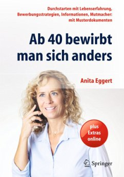 Ab 40 bewirbt man sich anders