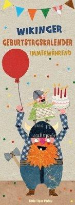 Wikinger-Geburtstagskalender immerwährend - Monat, Sandra