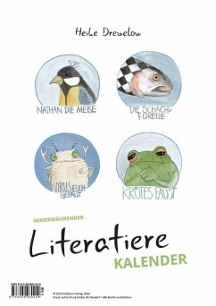Literatiere Kalender - Drewelow, Heike