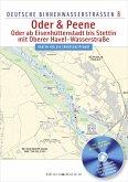 Deutsche Binnenwasserstraßen 08. Oder & Peene - Oder ab Eisenhüttenstadt bis Stettin, mit Oberer Havel-Wasserstraße