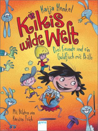 Buch-Reihe Kikis wilde Welt