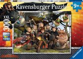 Ravensburger 13198 - Dragons Treue Freunde, Puzzle 300 Teile