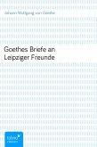 Goethes Briefe an Leipziger Freunde (eBook, ePUB)