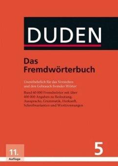 Duden 05. Das Fremdwörterbuch