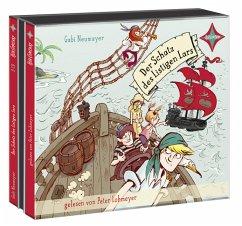 Der Schatz des Listigen Lars / Inselpiraten Bd.1 (3 Audio-CDs) - Neumayer, Gabi