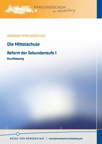 Die Mittelschule - Pfreundschuh, Gerhard