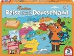 Die Maus (Kinderspiel), Reise durch Deutschland