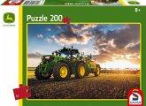 Schmidt Spiele Puzzle John Deere Traktor 6150R, 200 Teile