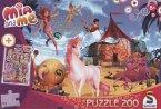 Mia and Me (Kinderpuzzle), Motiv 1 + Craze Loops und Anhänger