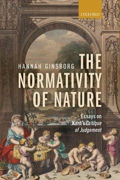 The Normativity of Nature (eBook, PDF) - Ginsborg, Hannah