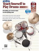 Alfred's Teach Yourself to Play Drums, m. 1 Audio-CD u. 1 Audio-DVD