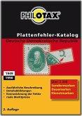 Plattenfehler-Katalog Deutsche Demokratische Republik 2014/2015