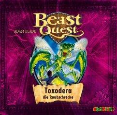 Toxodera, die Raubschrecke / Beast Quest Bd.30 (Audio-CD) - Blade, Adam