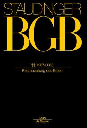 BGB §§ 1967-2063. (Rechtsstellung des Erben) von Julius ...  BGB §§ 1967-2...
