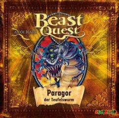 Paragor, der Teufelswurm / Beast Quest Bd.29 (1 Audio-CD) - Blade, Adam
