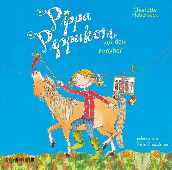 Pippa Pepperkorn Auf Dem Ponyhof Pippa Pepperkorn Bd 5 Audio Cd Von Charlotte Habersack Horbucher Portofrei Bei Bucher De