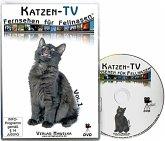 Katzen-TV - Fernsehen für Fellnasen. Tl.1, 1 DVD-Video