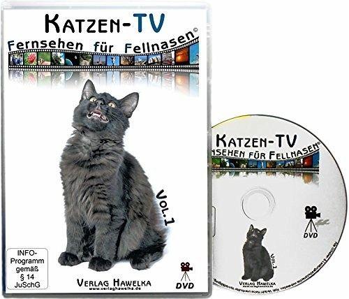 katzen tv fernsehen f r fellnasen tl 1 1 dvd video auf. Black Bedroom Furniture Sets. Home Design Ideas