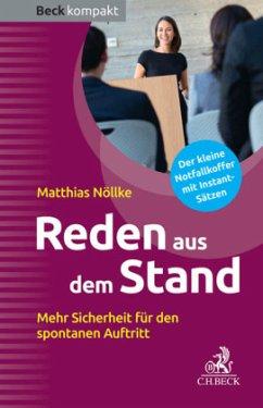 Reden aus dem Stand - Nöllke, Matthias