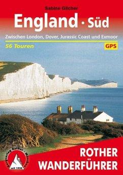 Rother Wanderführer England Süd - Gilcher, Sabine