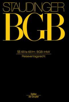 BGB §§ 651a-651m. (Reisevertragsrecht)