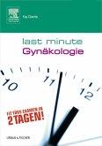 Last Minute Gynäkologie (eBook, ePUB)