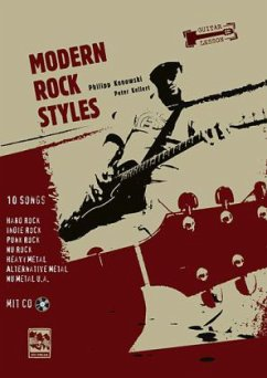 Guitar Lesson, Modern Rock Styles, m. MP3-CD