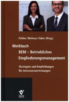 Werkbuch BEM - Betriebliches Eingliederungsmana...