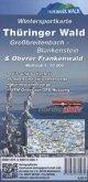 KKV Wintersportkarte Thüringer Wald, Großbreitenbach - Blankenstein & Oberer Frankenwald