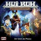 Der Geist des Pharao, Audio-CD / Hui Buh, das Schlossgespenst, neue Welt, Audio-CDs Tl.22