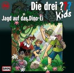 Jagd auf das Dino-Ei / Die drei Fragezeichen-Kids Bd.46 (Audio-CD)