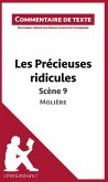 Commentaire composé : Les Précieuses ridicules de Molière - Scène 9